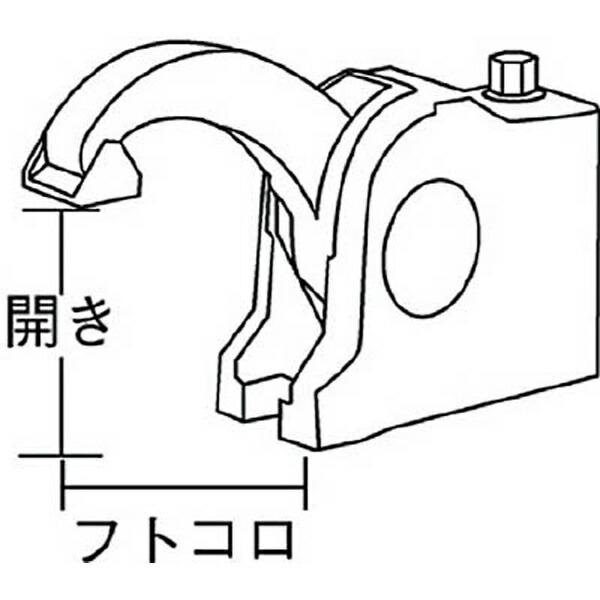 ベッセイBESSEYクランプBASC型開き100mmBASC106