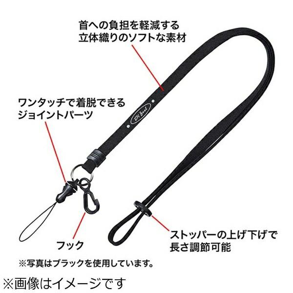 サンワサプライSANWASUPPLYネックストラップ(10mm幅)(レッド)DGST16R