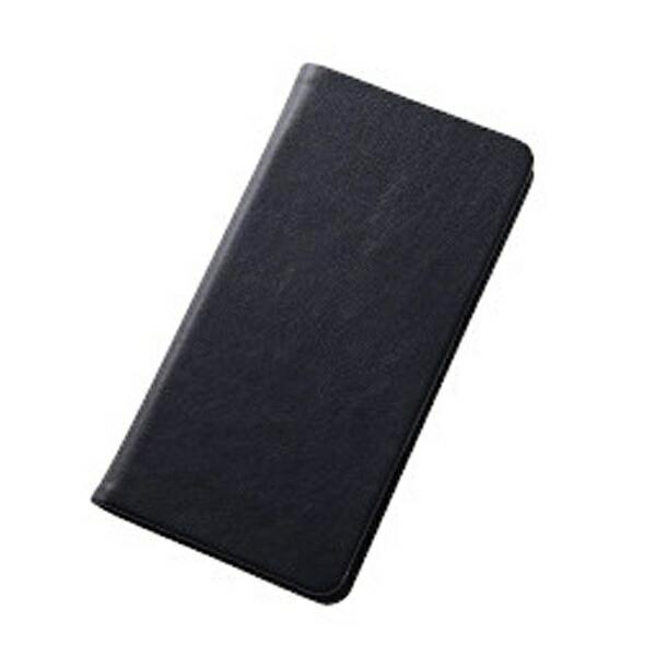 レイアウトrayoutXperiaZ5用手帳型ケーススマートブックレザーケース合皮ブラックRT-RXPH1MLC1/B[RTRXPH1MLC1B]