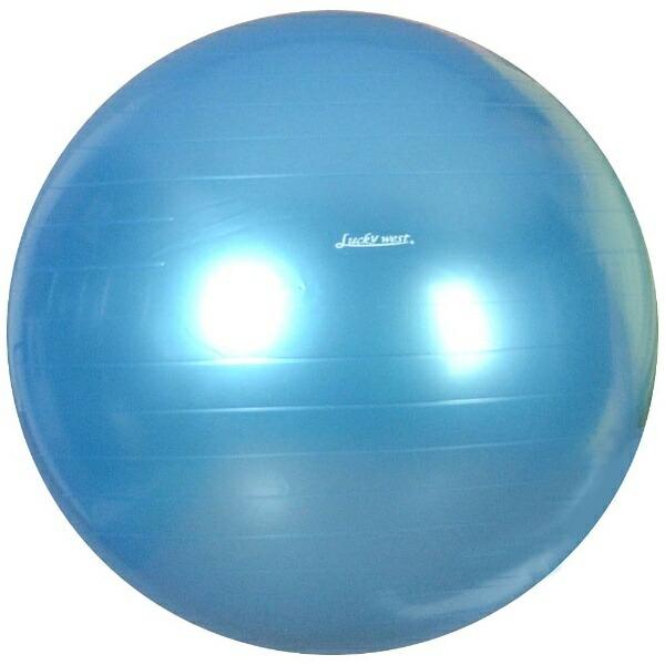 ラッキーウエストLuckyWestバランスボールYOGABALL(パールブルー/φ55cm)LG-320