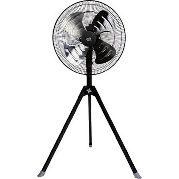 トラスコ中山業務用扇風機ブラックTFLHA-45S-BK[TFLHA45SBK]