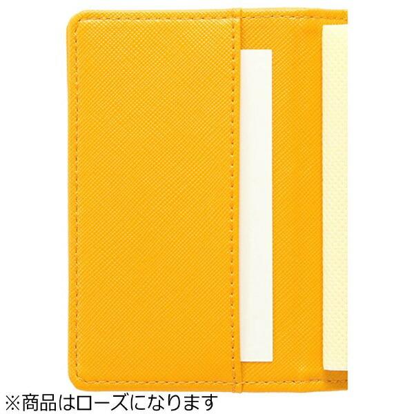 セキセイSEKISEIラポルタカードホルダー(カードサイズ20枚収容/ローズ)LA6020