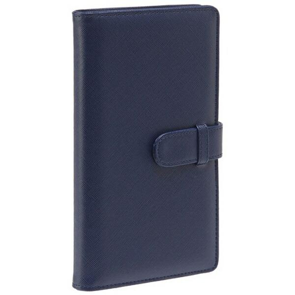 セキセイSEKISEIラポルタカードホルダー(カードサイズ120枚収容/ネイビーブルー)LA6120