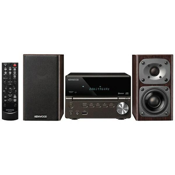 ケンウッドKENWOOD【ハイレゾ音源対応】Bluetooth対応コンパクトHi-Fiシステム(ブラック)XK-330-B【ワイドFM対応】[ワイドFM対応/Bluetooth対応/ハイレゾ対応][CDコンポ高音質XK330B]