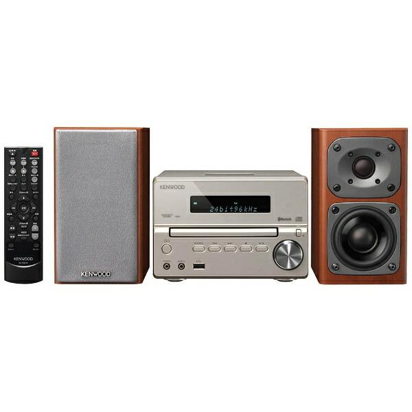 ケンウッドKENWOOD【ハイレゾ音源対応】Bluetooth対応コンパクトHi-Fiシステム(ゴールド)XK-330-N【ワイドFM対応】[ワイドFM対応/Bluetooth対応/ハイレゾ対応][CDコンポ高音質XK330N]