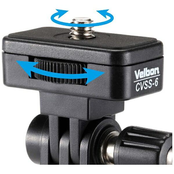 ベルボンVelbonコールマン自撮り一脚CVSS−6(ブルー)