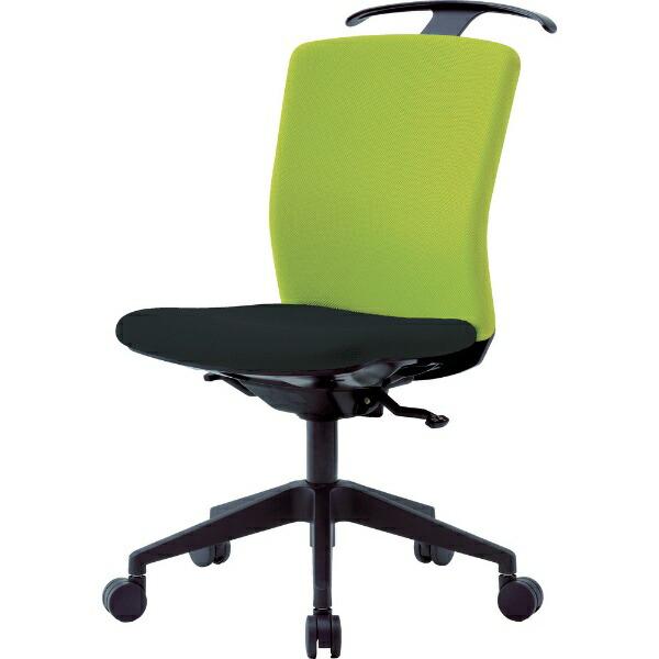アイリスチトセIRISCHITOSEアイリスチトセハンガー付回転椅子(シンクロロッキング)グリーン/ブラックHG−X−CKR−S46M0−F−LGY