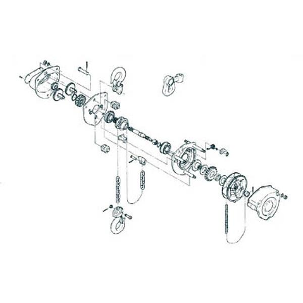キトーKITOキトーM3形マイティワリピン2X14J1PW01−020014