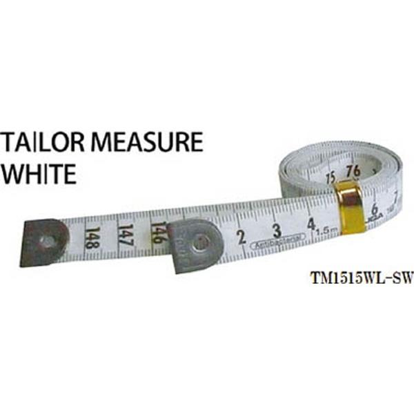 プロマートPROMARTプロマートテーラーメジャー1.5m余白有白/白TM1515WL−SW