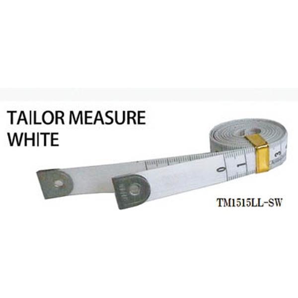 プロマートPROMARTプロマートテーラーメジャー1.5m余白有白/白TM1515LL−SW