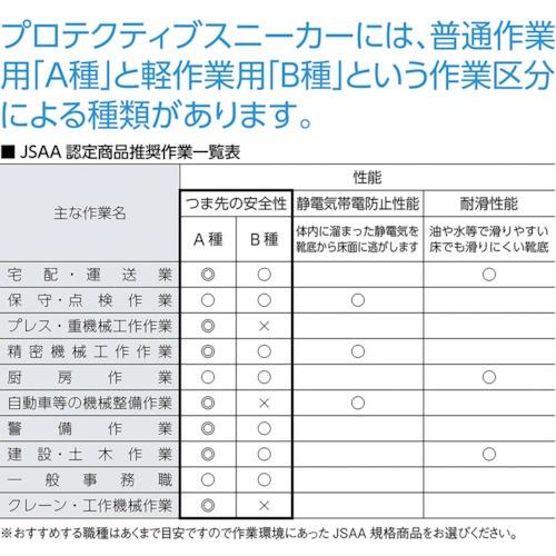 シモンSimonシモン安全スニーカーライトスペシャルLS411BK/SL25.5cmLS411B/S−25.5