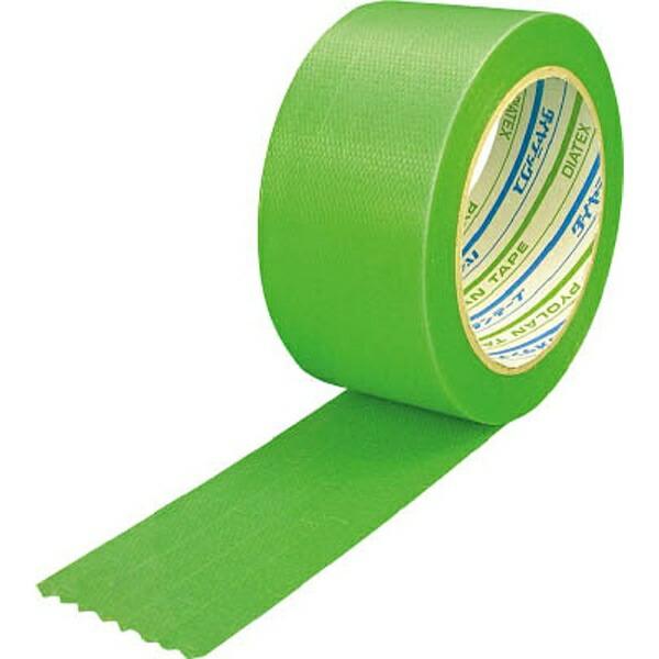 ダイヤテックスDIATEXパイオラン塗装養生用テープ50mmx50mグリーンY09GR