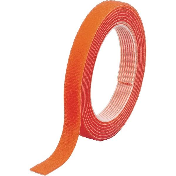 トラスコ中山TRUSCOマジックバンド結束テープ両面幅40mmX長さ10mオレンジMKT−40100−OR