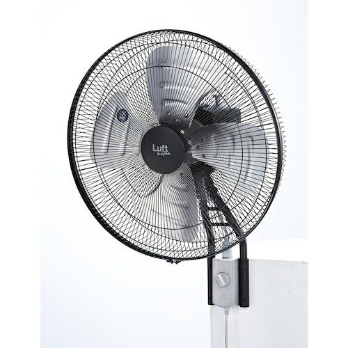 トラスコ中山業務用扇風機ブラックTFLHA-45W-BK