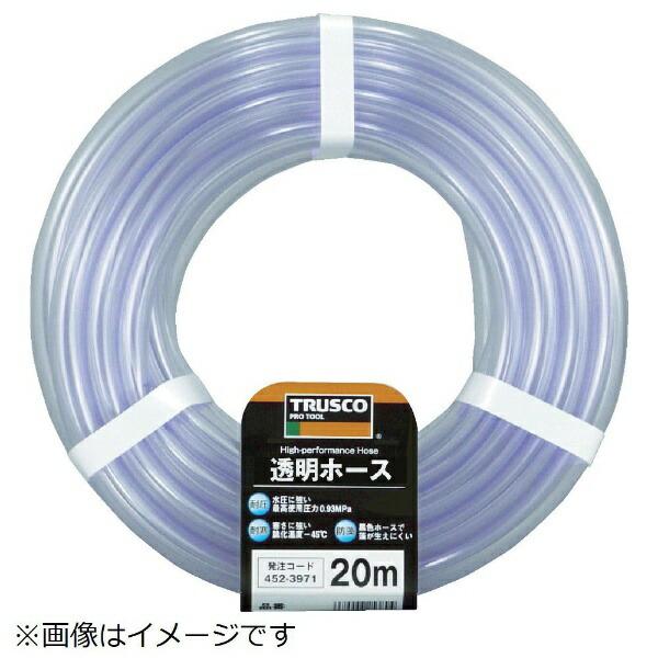 トラスコ中山TRUSCO透明ホース6×810mカットTTM−68C10《※画像はイメージです。実際の商品とは異なります》