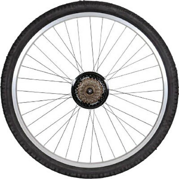 トラスコ中山TRUSCOTHR−5526用ノーパンクタイヤ後輪THR−26TIRE−R