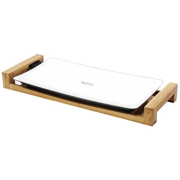 プリンセスPRINCESS103030ホットプレートTableGrillPureホワイト[プレート1枚][テーブルグリルピュア]
