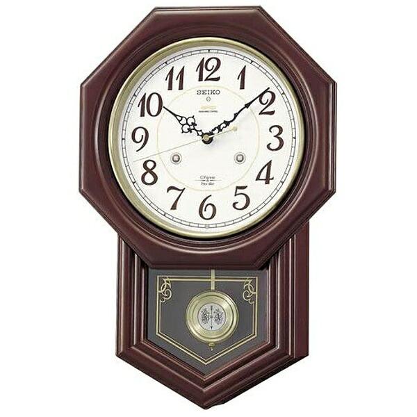 セイコーSEIKO電波からくり時計「チャイム&ストライク」RQ205B[RQ205B]