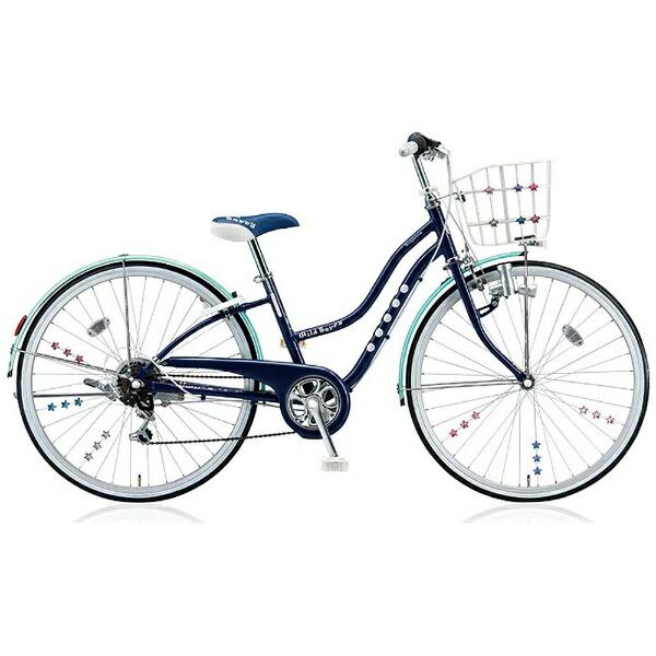 ブリヂストンBRIDGESTONE26型子供用自転車ワイルドベリー(スターネイビー/6段変速)WB666【組立商品につき返品不可】【代金引換配送不可】