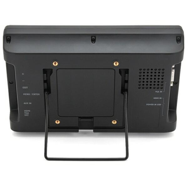 センチュリーCenturyCorporationLEDバックライト搭載液晶モニターplusoneブラックLCD-7000VH[ワイド/WXGA(1280×800)]