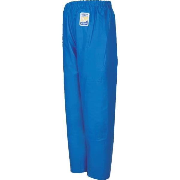 ロゴスLOGOSマリンエクセル並ズボン膝当て付きブルー3L12050150