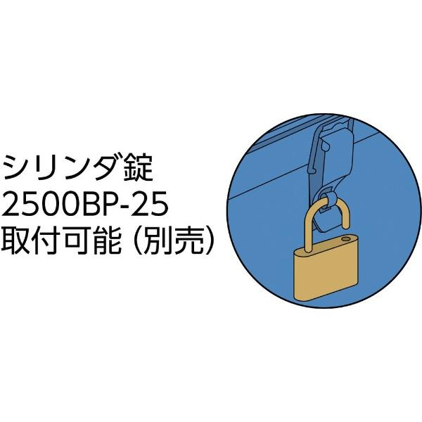 トラスコ中山トランク工具箱320×137×96.5OD色T320OD