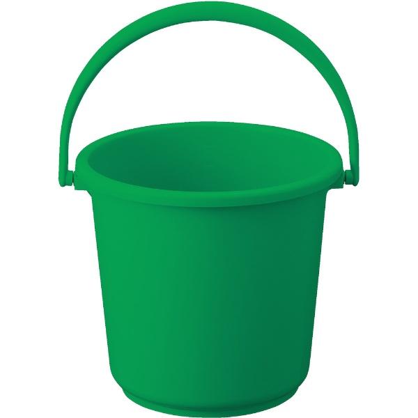 トラスコ中山PPカラーバケツ10L緑TPPB10GN