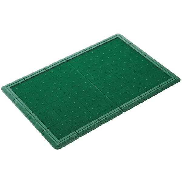 山崎産業(屋外用マット)エバックスターマット#6緑F96