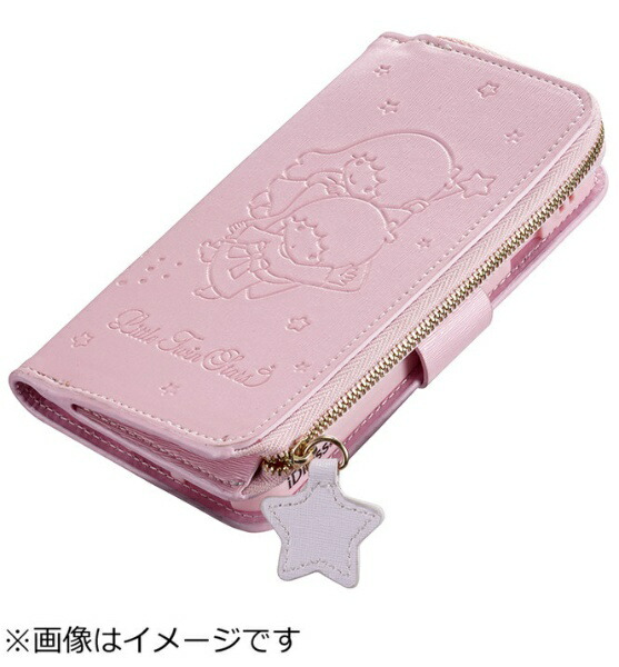 サンクレストSUNCRESTiPhone6s/6用手帳型iCoinダイアリーカバーリトルツインスターズ・ライトピンクi6S-TS03