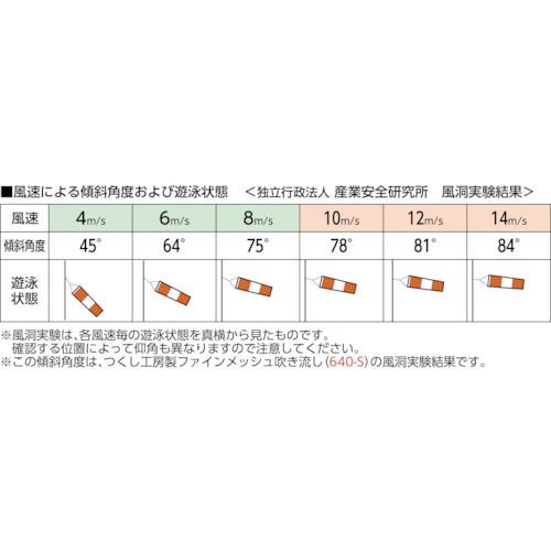 つくし工房TSUKUSHIKOBOファインメッシュ吹き流し小640S
