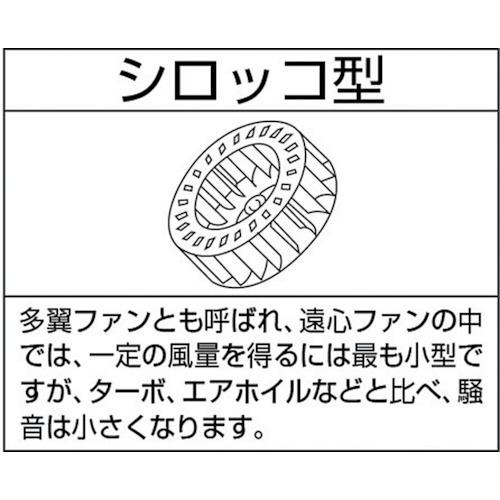 淀川電機製作所YODOGAWA小型シロッコ型電動送排風機2S