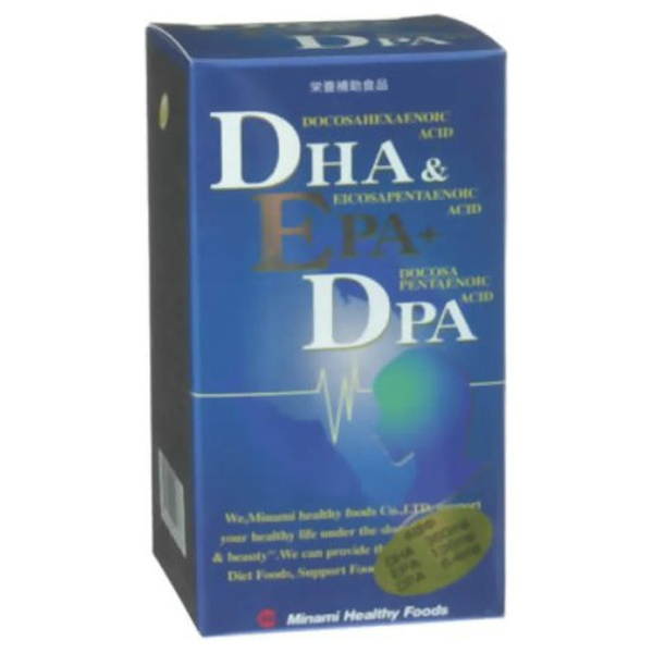 ミナミヘルシーフーズminamiDHA&EPA+DPA120粒【wtcool】