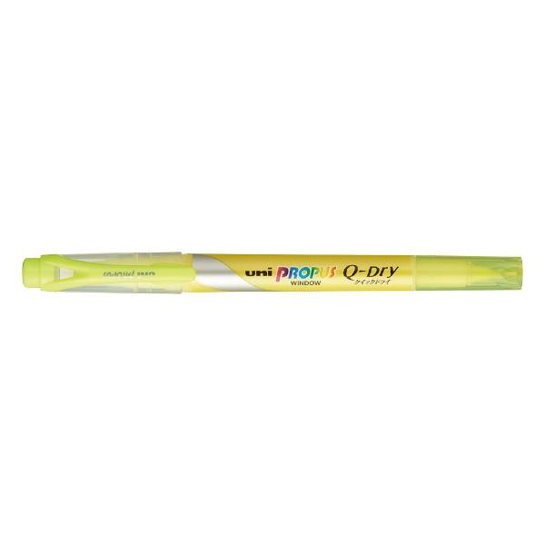 三菱鉛筆MITSUBISHIPENCIL[蛍光ペン]プロパス・ウインドウクイックドライ(イエロー)PUS138T.2