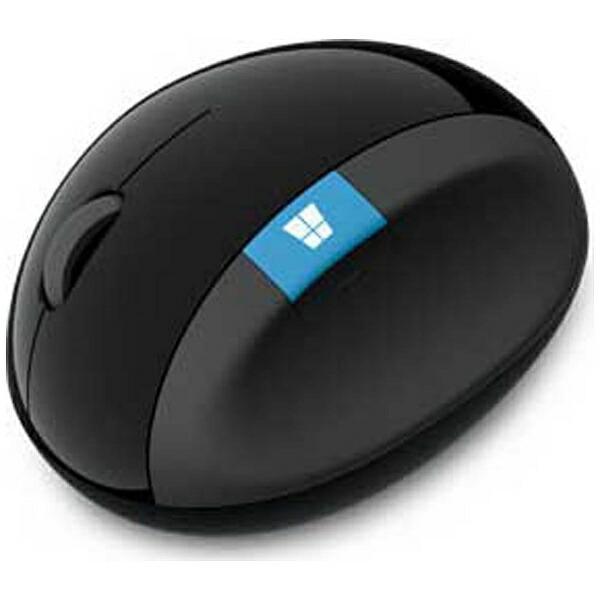 マイクロソフトMicrosoftL6V-00013マウスSculptErgonomicMouseブラック[BlueLED/4ボタン/USB/無線(ワイヤレス)][L6V00013]