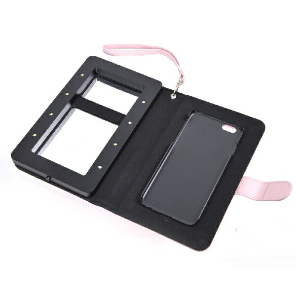 サンコーTHANKOiPhone6s/6用手帳型女優ミラーメイクアップケースiDresserSJRHEG6P