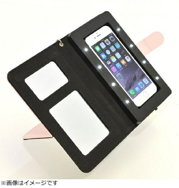 サンコーSANKOiPhone6s/6用手帳型女優ミラーメイクアップケースiDresserSJRHEG6P