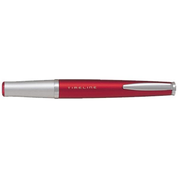 パイロットPILOT[油性ボールペン]TIMELINE(タイムライン)FUTUREバーニングレッド(インク:ブラック・ボール径:0.7mm)BTL-5SR-BR