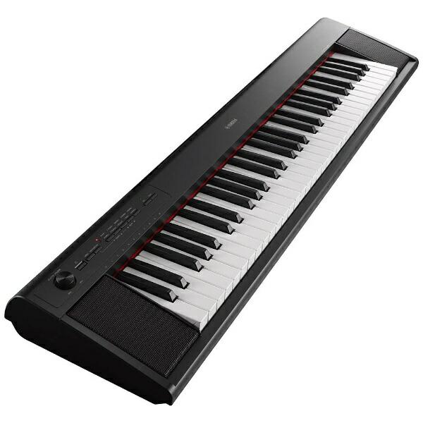 ヤマハYAMAHA電子キーボードpiaggero(ピアジェーロ)(61鍵盤/ブラック)NP-12B[NP12B]