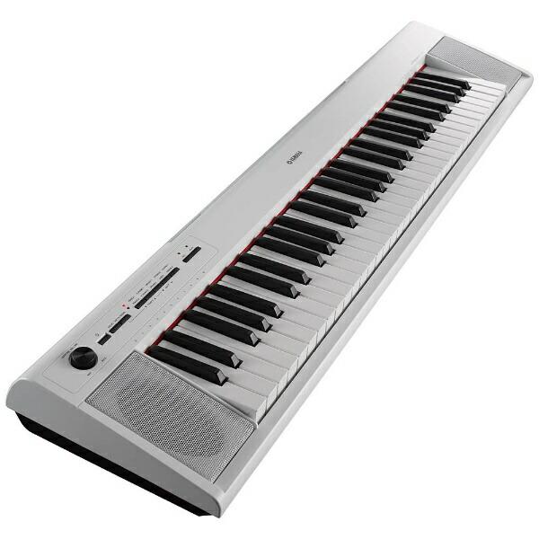 ヤマハYAMAHA電子キーボードpiaggero(ピアジェーロ)(61鍵盤/ホワイト)NP-12WH[61鍵盤][NP12WH]