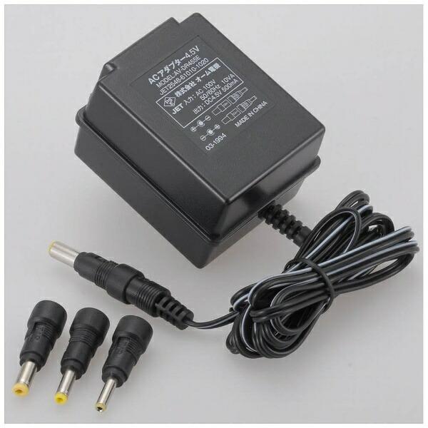 オーム電機OHMELECTRIC電源アダプター4.5V500mAAV-DR455E[AVDR455E]