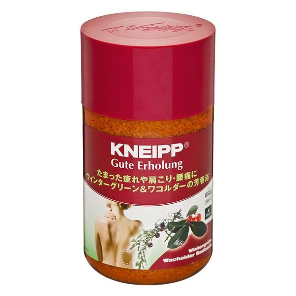 クナイプジャパンKneippJapanKNEIPP(クナイプ)グーテエアホールングバスソルトウィンターグリーン&ワコルダーの香り850g〔入浴剤〕
