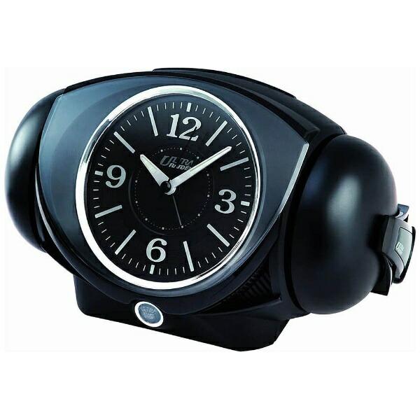 セイコーSEIKO目覚まし時計ULTRARAIDEN(ウルトラライデン)黒NR441K[アナログ][NR441K]