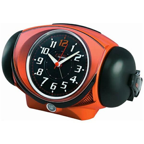 セイコーSEIKO目覚まし時計ULTRARAIDEN(ウルトラライデン)オレンジメタリックNR441E[アナログ][NR441E]