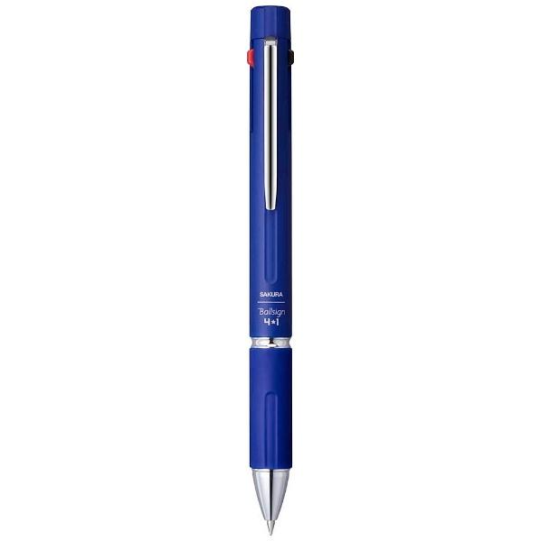 サクラクレパスSAKURACOLORPRODUCT[多機能ペン]Ballsign4*1ネイビー(ボール径:0.4mm+芯径0.5mm)?GB4M1004#38