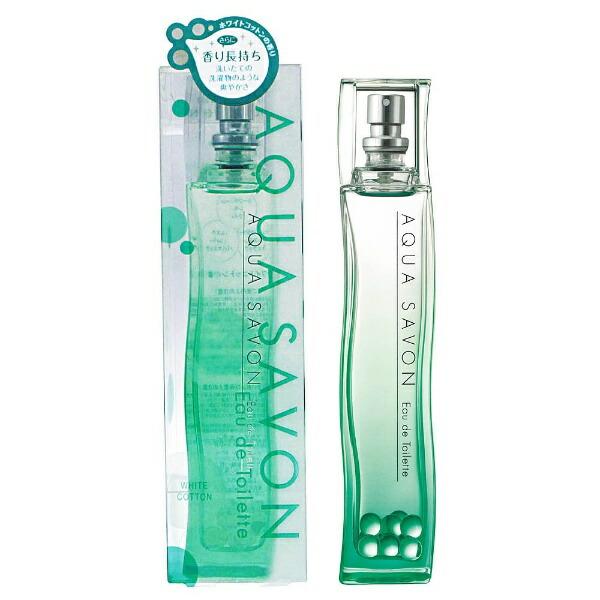 アクアシャボンAQUASAVONホワイトコットンの香りET(80ml・スプレータイプ)【並行輸入品】