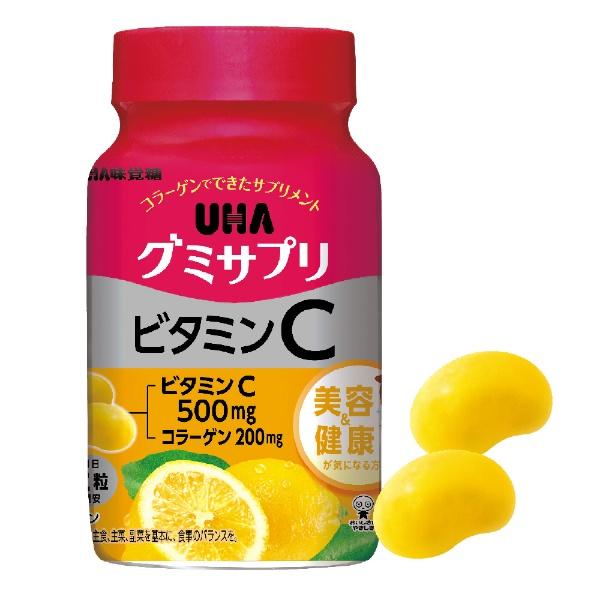 UHA味覚糖グミサプリビタミンC30日分(60粒)【wtcool】
