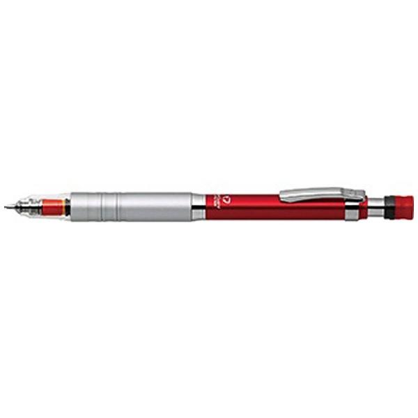 ゼブラZEBRA[シャープペン]デルガードタイプLxレッド(芯径:0.5mm)P-MA86-R