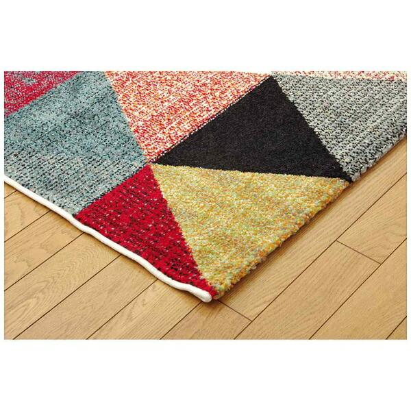 イケヒコIKEHIKOラグトルコ製ウィルトン織り『イマール』(80×140cm/アイボリー)