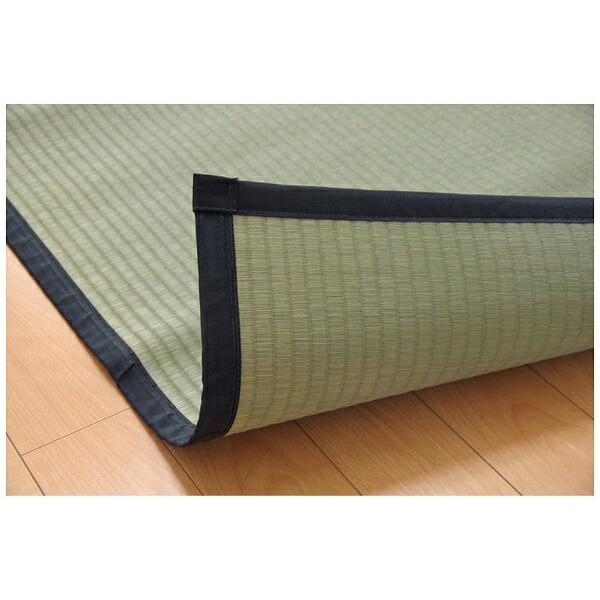 イケヒコIKEHIKOラグい草麻綿織「清正」(95×191cm/ナチュラル)【日本製】