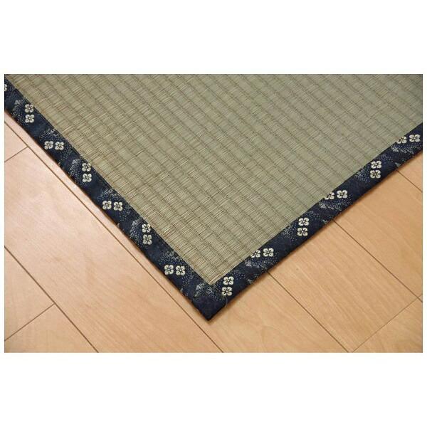 イケヒコIKEHIKOラグい草糸引織「立山」(170×170cm/ナチュラル)【日本製】